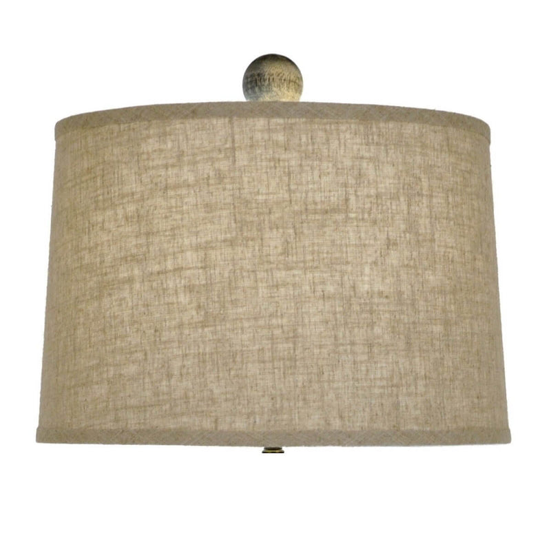 Wes Solid Wood Table Lamp - Decorative Table Lamps