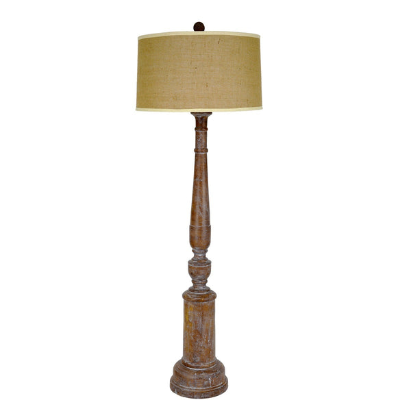 Finnegan Solid Wood Floor Lamp - Lillian Home