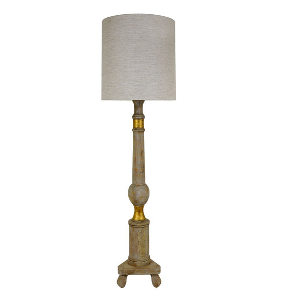 Lucille Solid Wood Floor Lamp - Lillian Home
