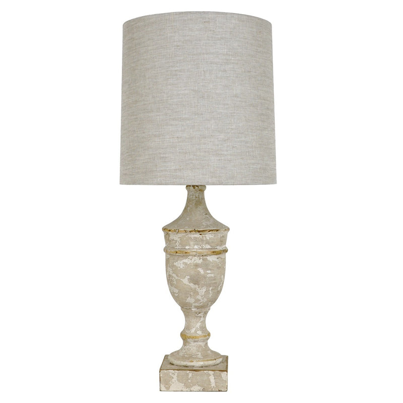 Callion Solid Wood Table Lamp - Lillian Home