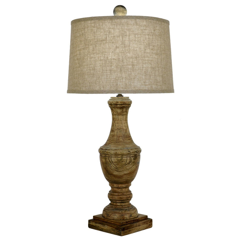 Wes Solid Wood Table Lamp - Lillian Home - Shop Now