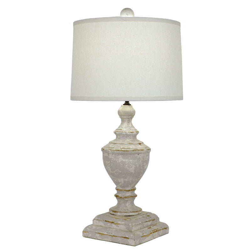 Dustin Solid Wood Table Lamp - Lillian Home