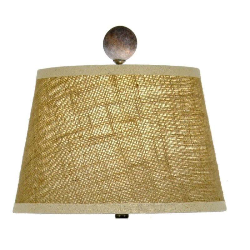 Luciano Solid Wood Table Lamp