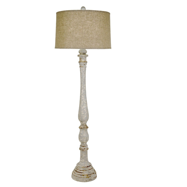 Quinton Solid Wood Floor Lamp - Lillian Home