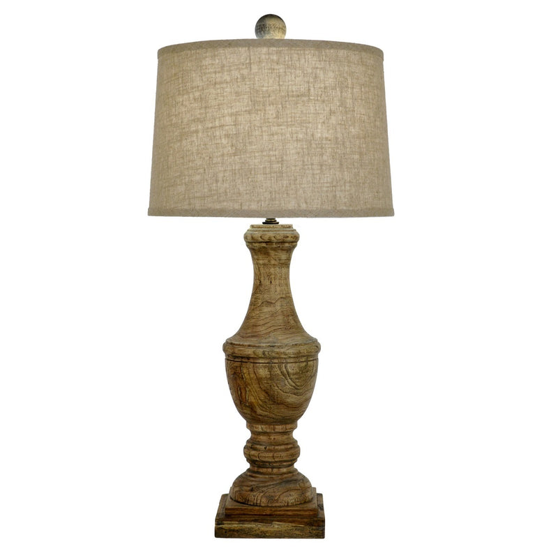 Wes Solid Wood Table Lamp - Lillian Home