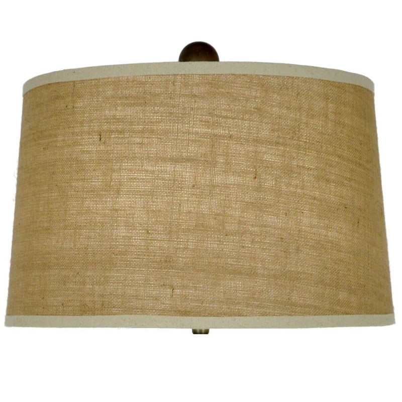 Rama Green and Gold Pottery Table Lamp - Lillian Home