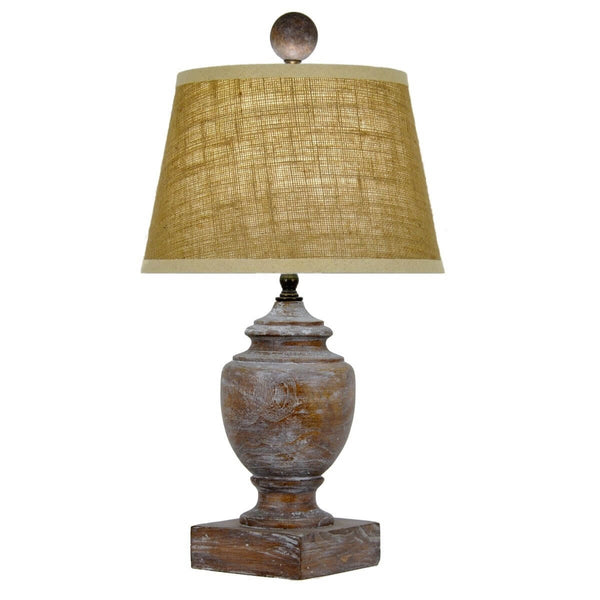 Luciano Solid Wood Table Lamp - Lillian Home