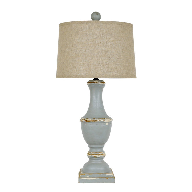 Lillian Home Caterina Solid Wood Table Lamp
