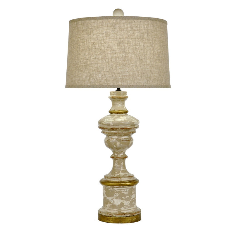 Alonso Wooden Table Lamp - Lamps Alonso