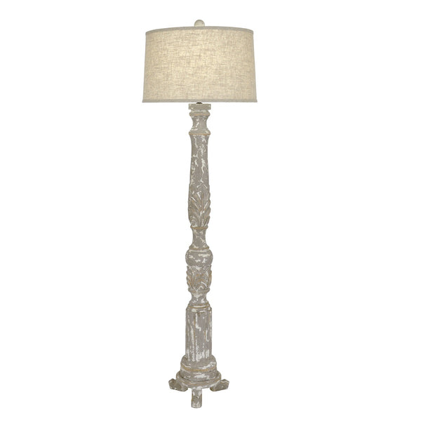 Addison Wooden Floor Lamp - Lamps Addison