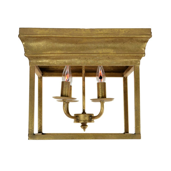 Alie 4 Light Gold Flush Mount - Lillian Home