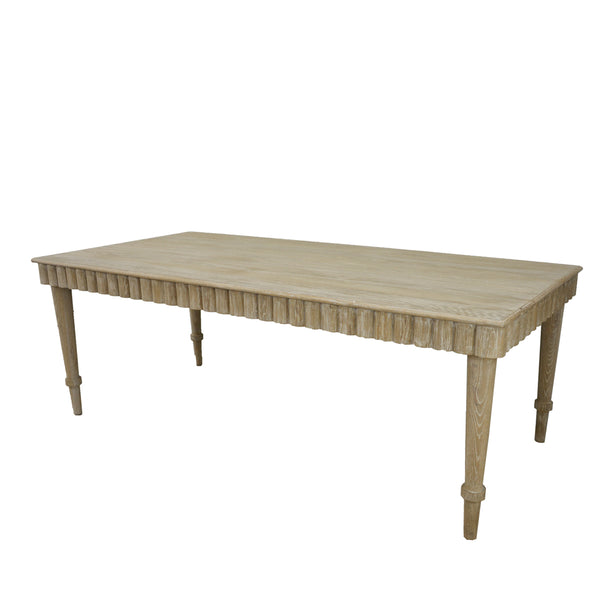 Anne Solid Oak Dining Table
