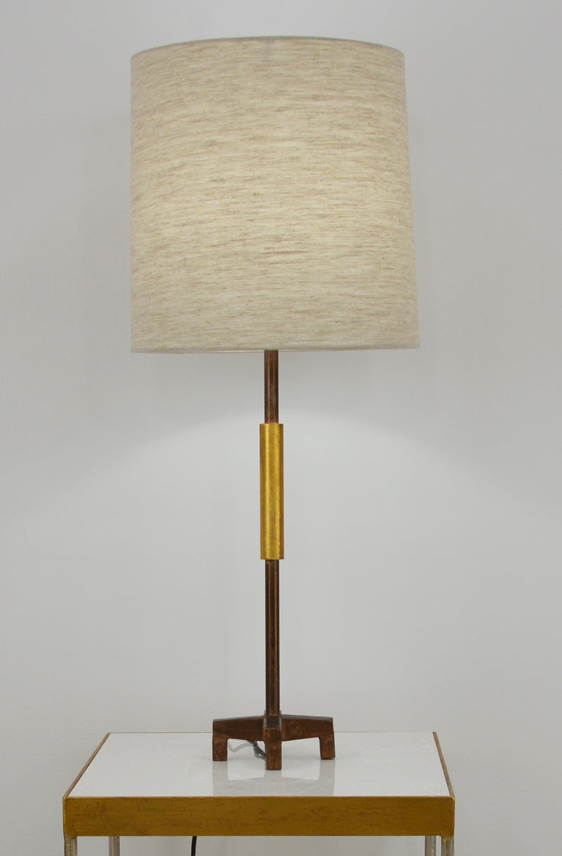Ayla Brown and Gold Table Lamp