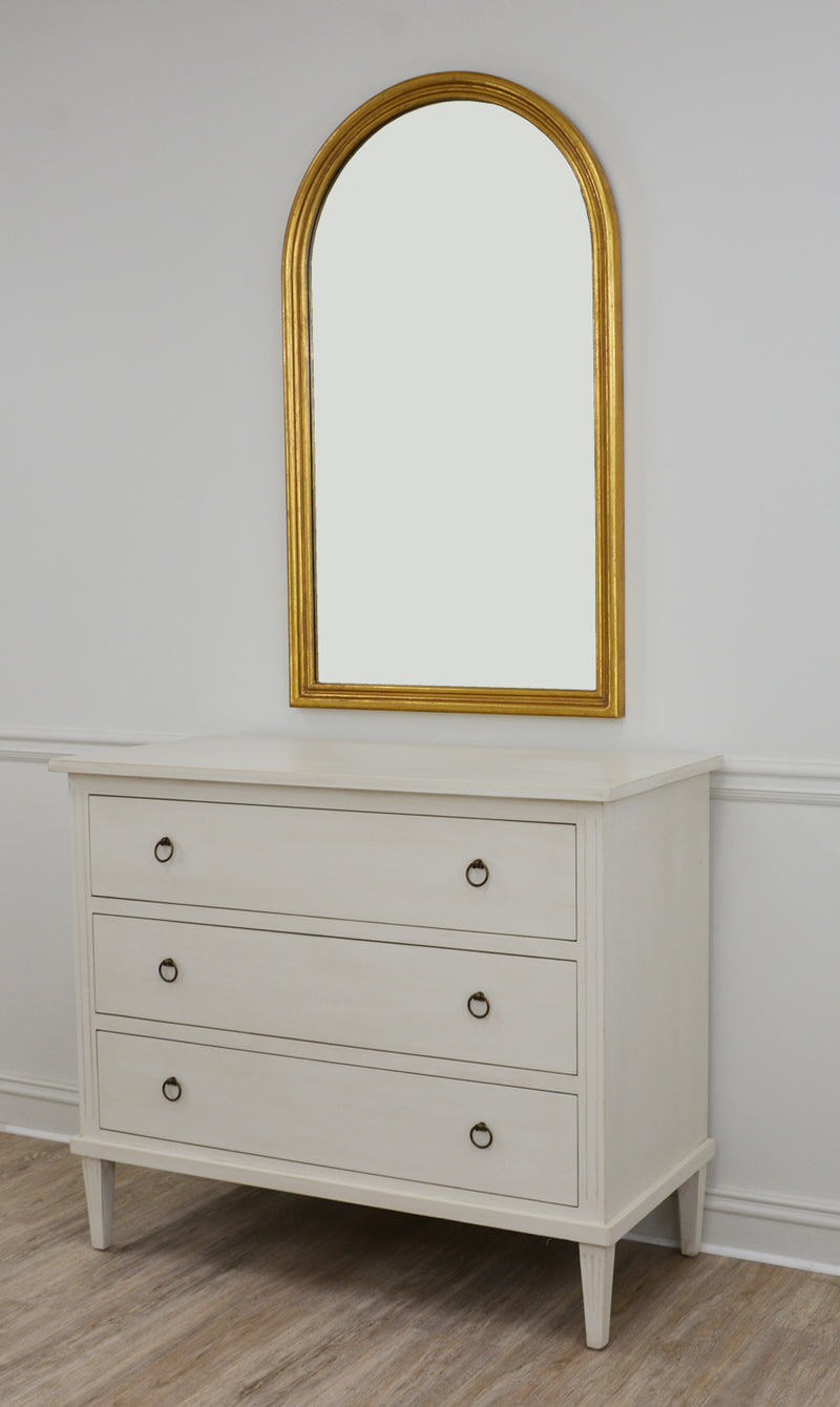 Ayla Gold Leaf Wall Mirror | Louis Philippe Style Mirror