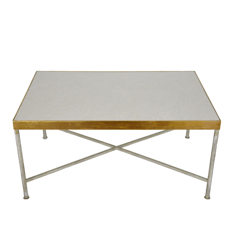 Esme Silver and Gold Coffee Table - Lillian Home