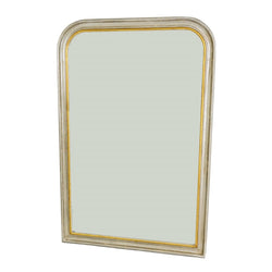 Chateau Silver Gold Louis Philippe Mirror | Lillian Home