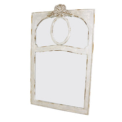 Cruz Carved Wood Mirror- Lillian Home
