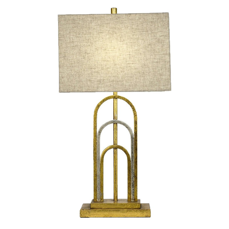Empire Gold Silver Table Lamp- Lillian Home