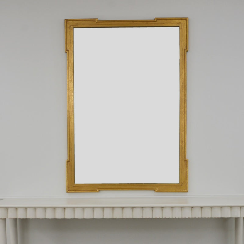 Pari Gold Wall Mirror | Gold Louis Mirror