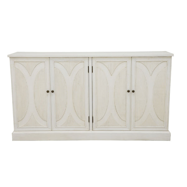 Cicinia White Cabinet - Lillian Home