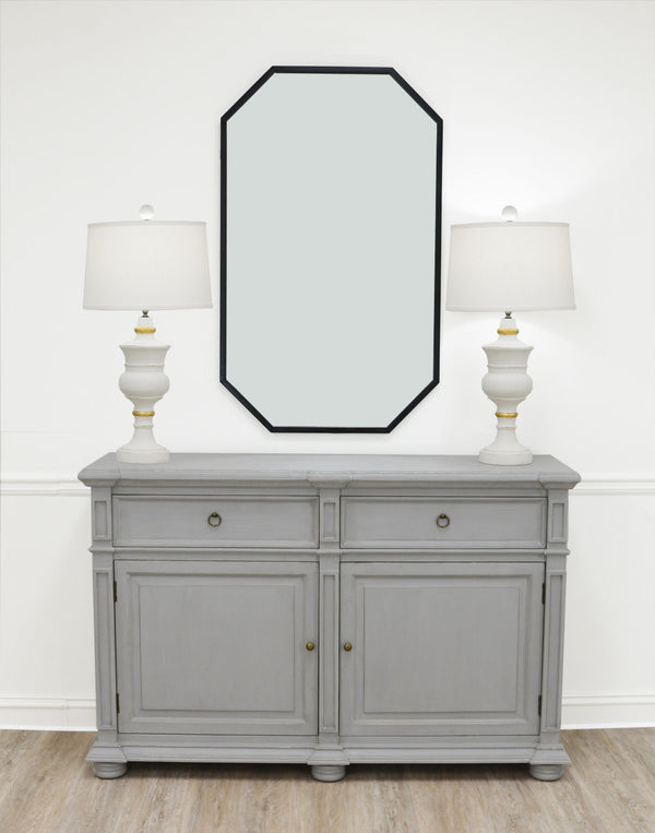Monica Grey Cabinet - Lillian Home