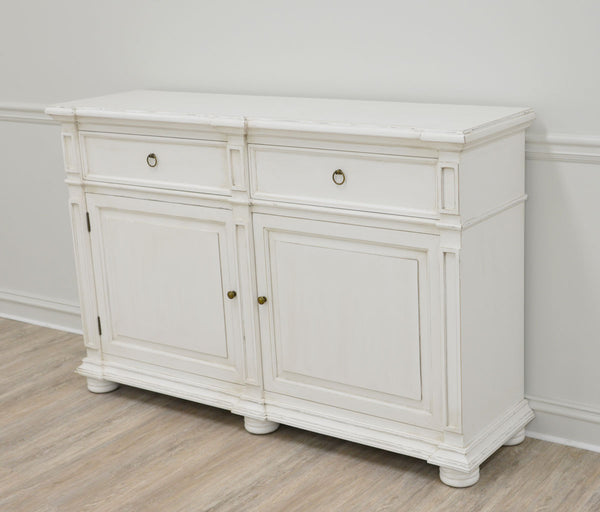 Monica White Cabinet - Lillian Home