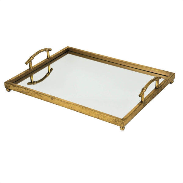 FANCY GOLD LEAF TRAY