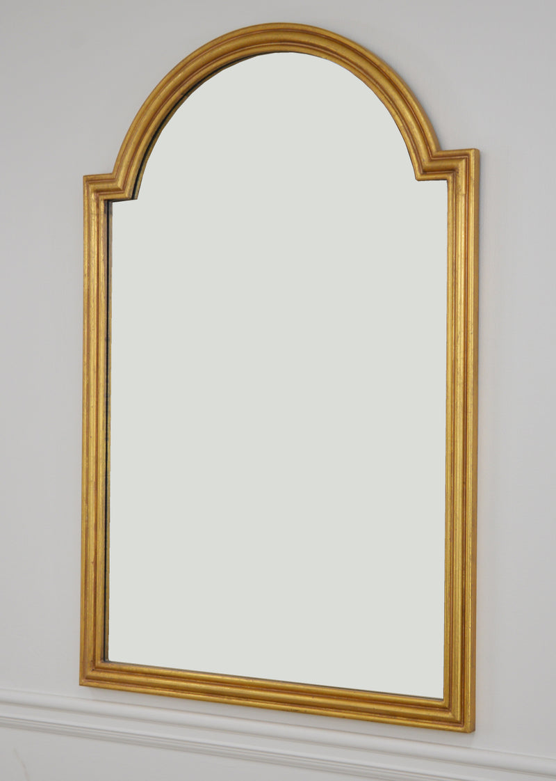 Feru Gold Leaf Wall Mirror | Lillian Home
