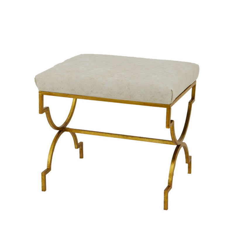 Gerald Small Gold Bench