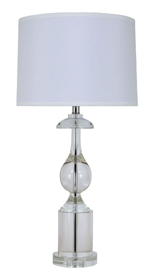 Roma Solid Crystal Table Lamp | Lillian Home