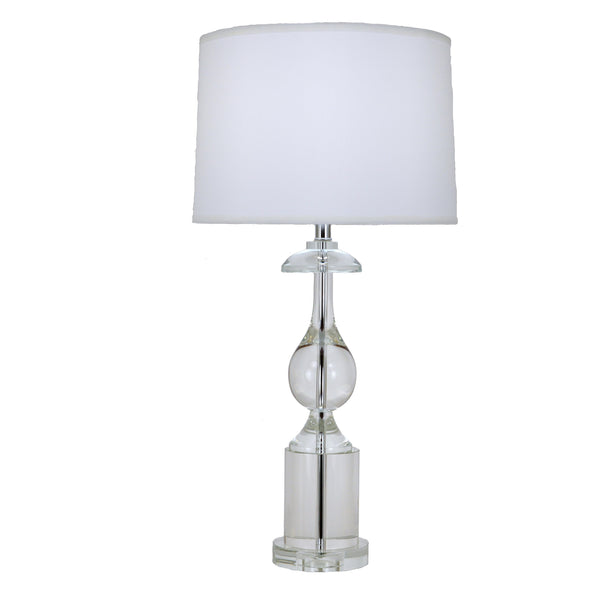 Roma Solid Crystal Table Lamp - Lillian Home
