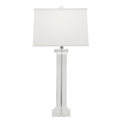 Hannah Solid Crystal Table Lamp- Lillian Home