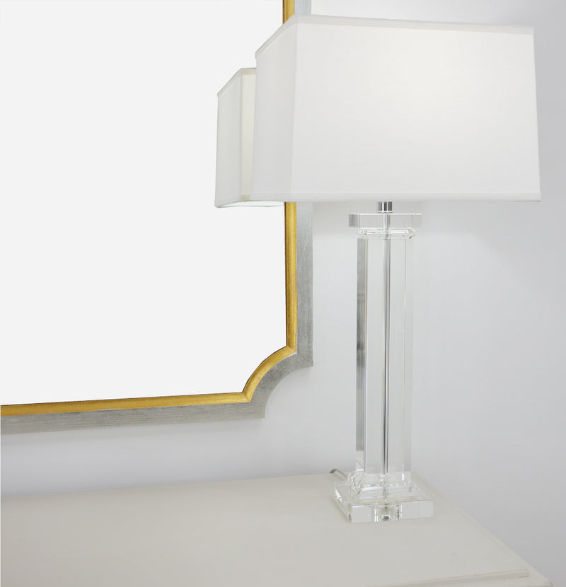 Hannah Solid Crystal Table Lamp