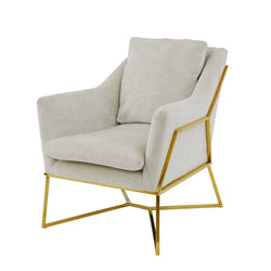 Hazel Gold Chair- Lillian Home