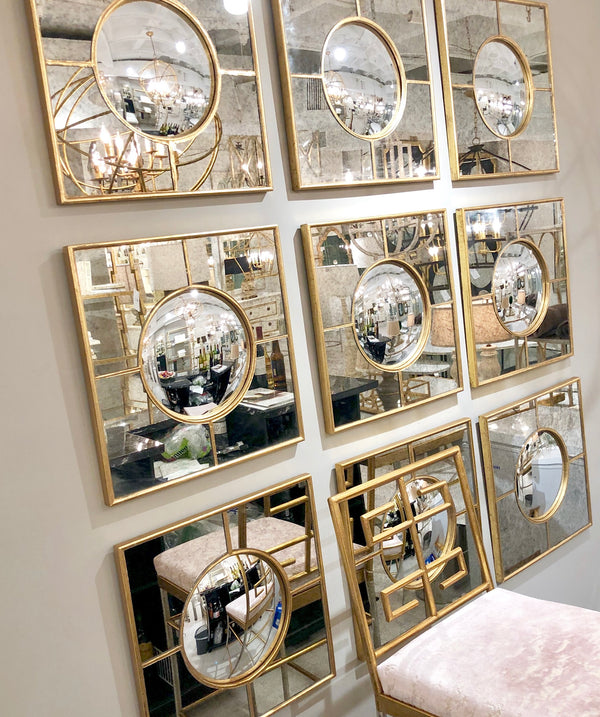 Zynan Sectional Wall Mirror | Louis Philippe Mirror