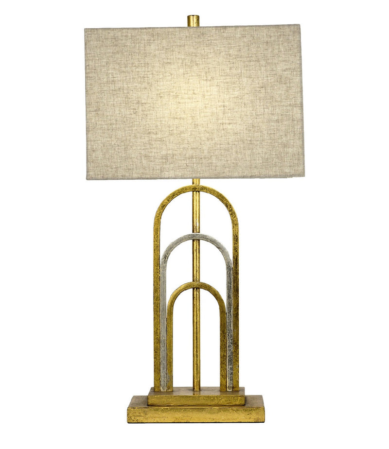 Empire Gold Silver Table Lamp | Lillian Home | Shop Now