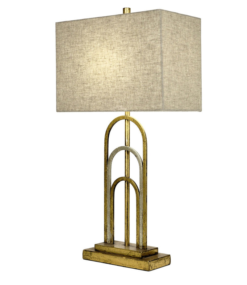 Empire Gold Silver Table Lamp | Lillian Home