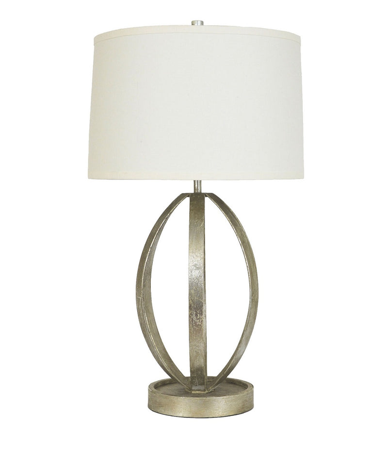 Lillian Home Ana Silver Leaf Table Lamp