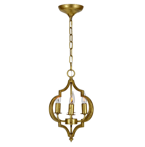 Marissa 4 Light Gold Pendant - Lillian Home