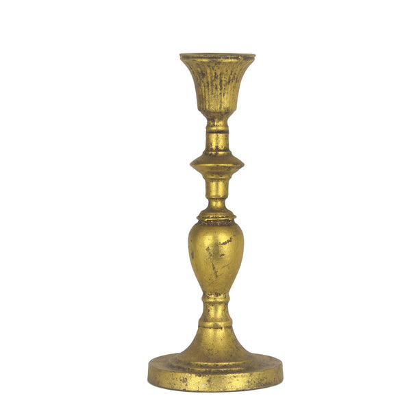 Paris Gold Candle Holder