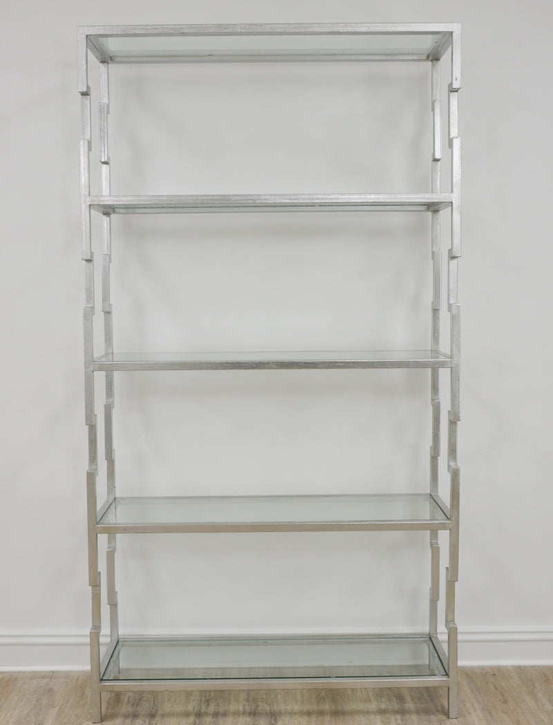 Lazaro Silver Leaf Shelf