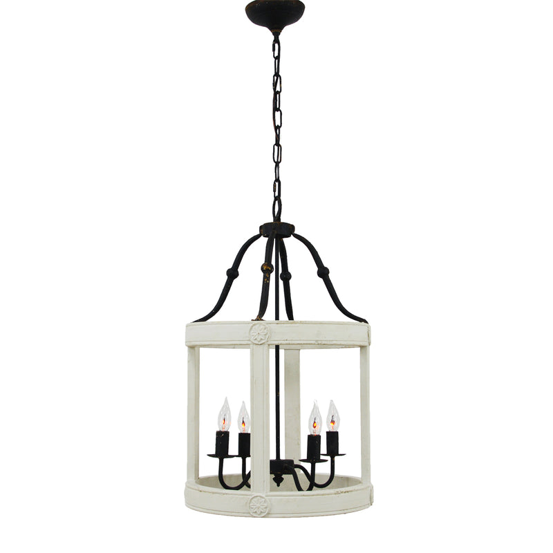 Lincoln 4 Light Grey Fixture- Lillian Home