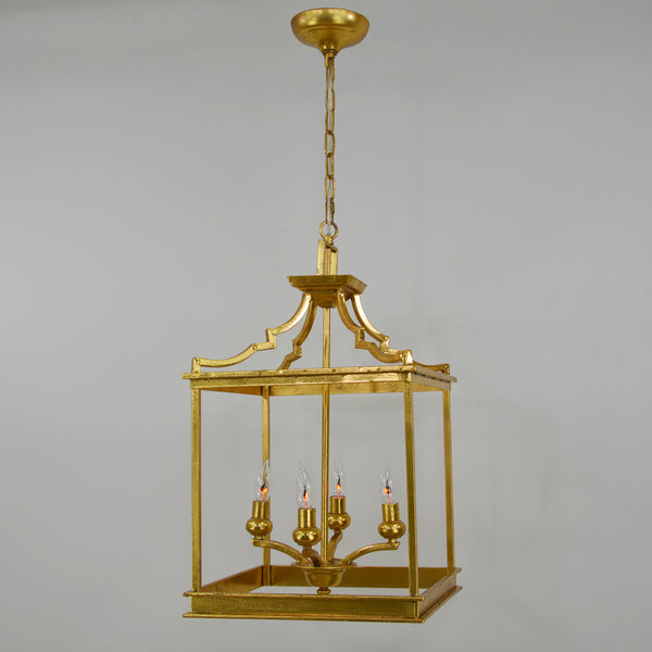 Mali 4 Light Gold Light Fixture- Lillian Home