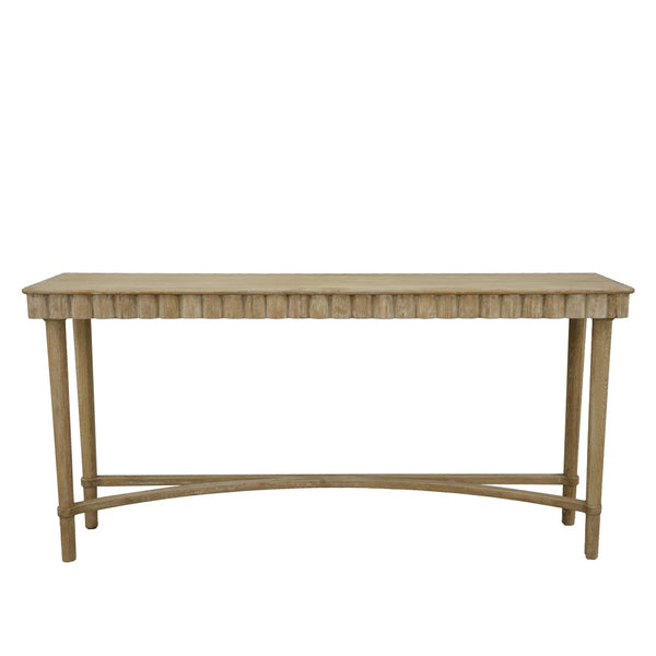 Mano Wood Console Table- Lillian Home