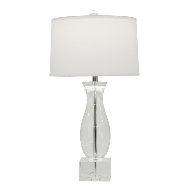 Mati Solid Crystal Table Lamp- Lillian Home