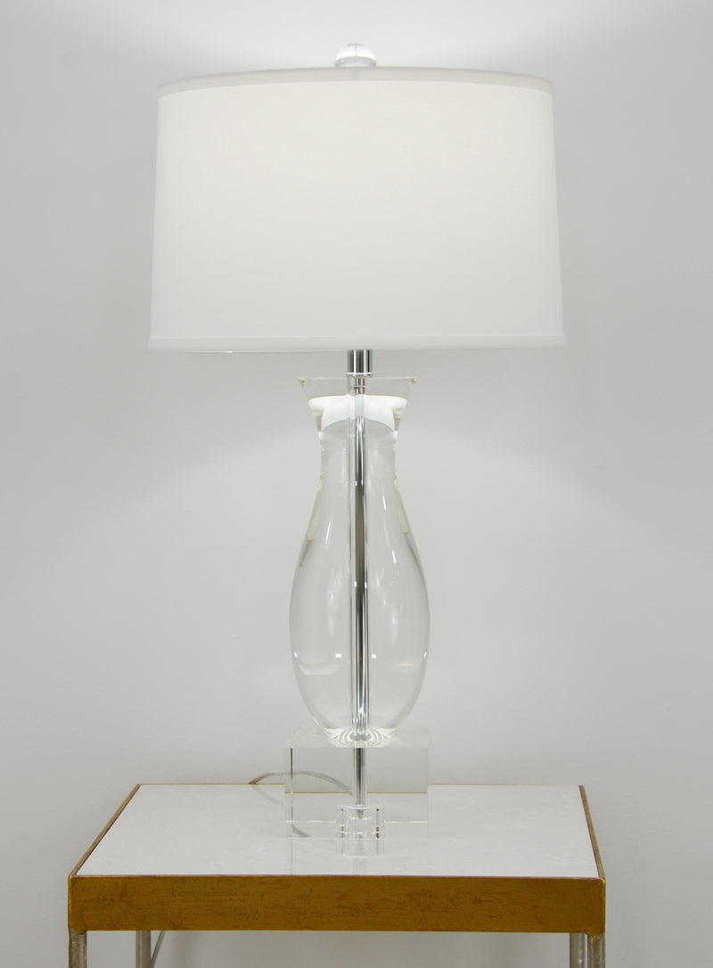 Mati Solid Crystal Table Lamp