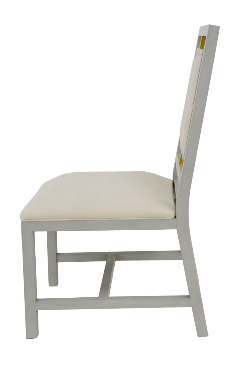 Patek Dining Chair Gray- Lillian Home