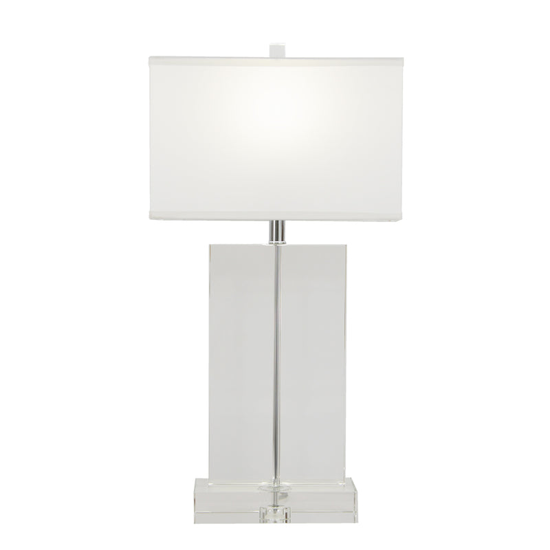 Realm Solid Crystal Table Lamp- Lillian Home