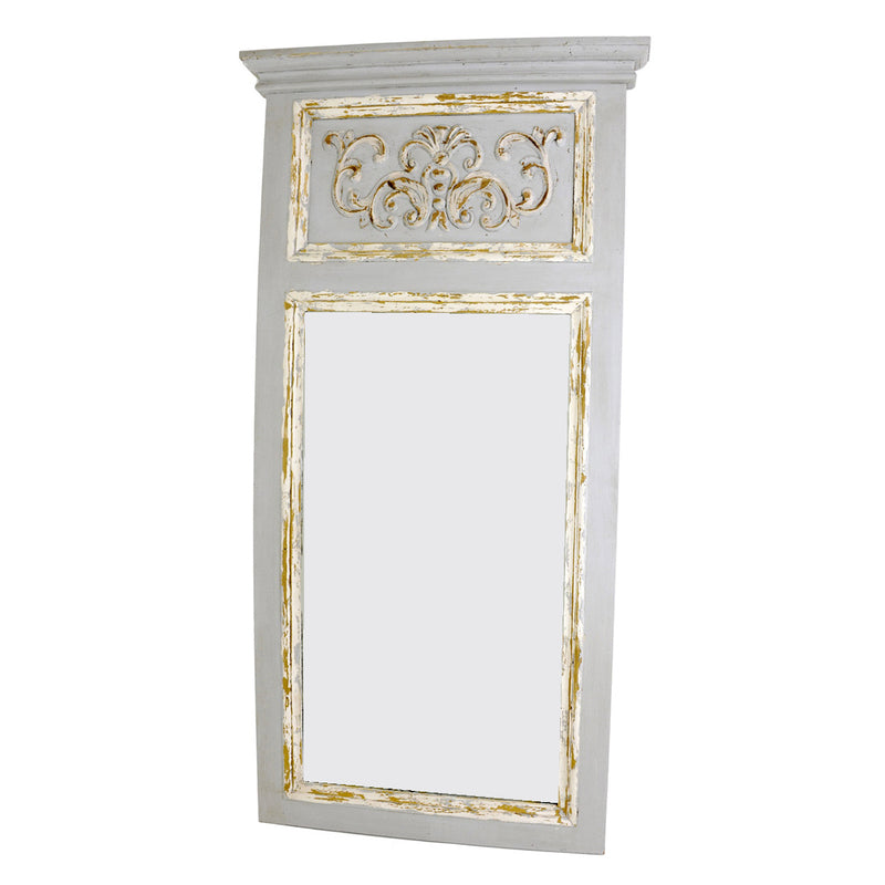 Romeo Trumeau Wall Mirror- Lillian Home