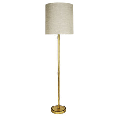 Sarasota Gold Leaf Floor Lamp- Lillian Home